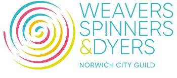 Norwich City Guild of Weavers Spinners and Dyers logo